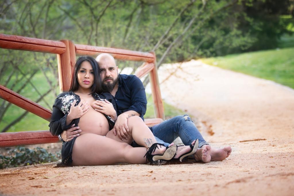sesión de fotos de embarazada en madrid