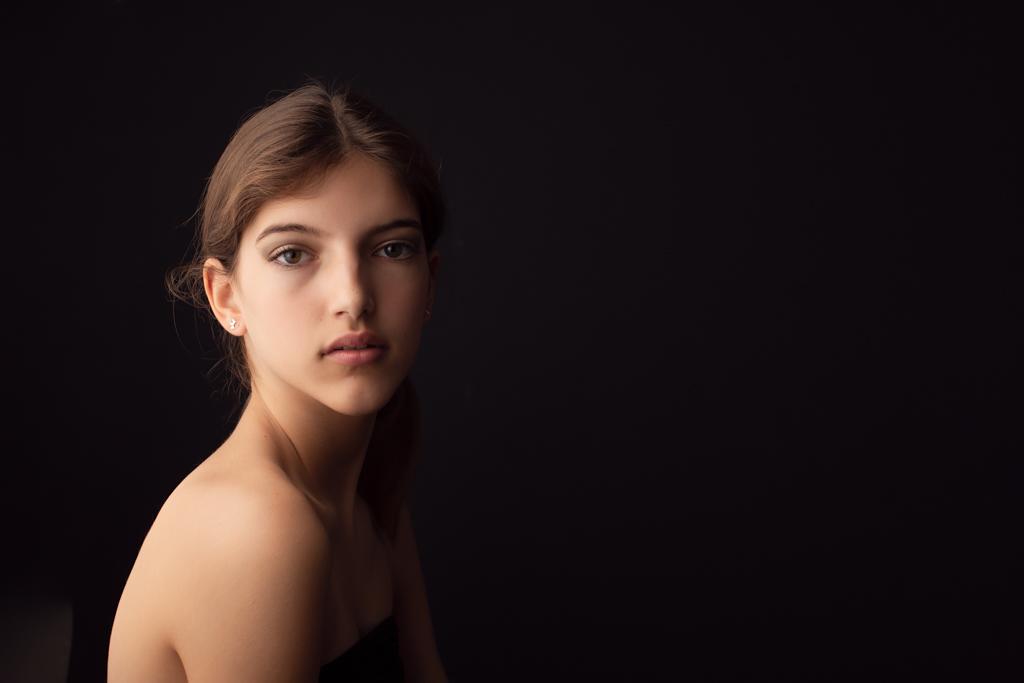 retrato mujer