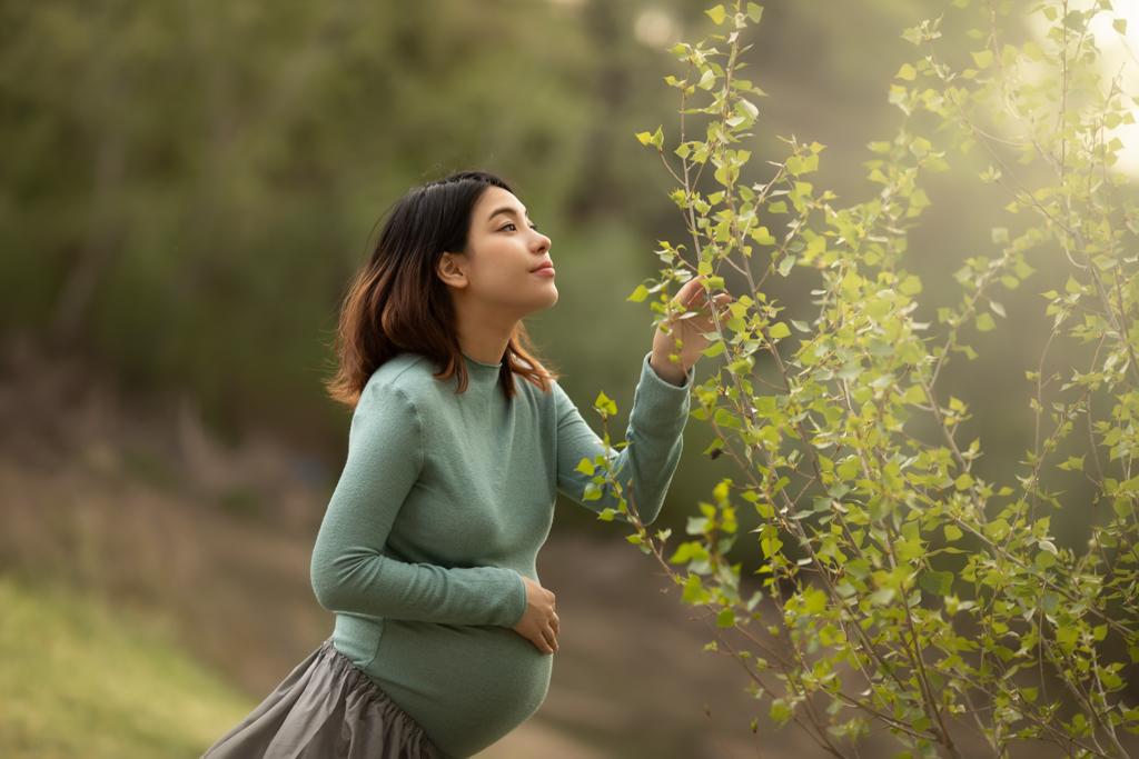 embarazo feliz