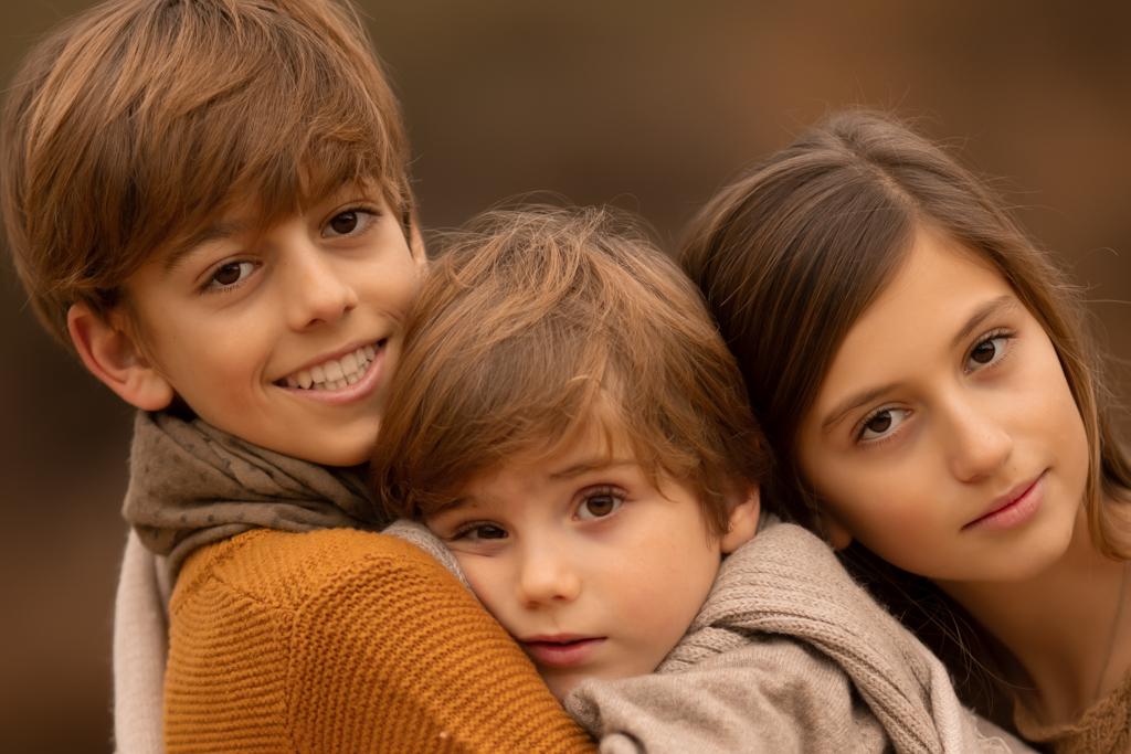 fotografia de familia