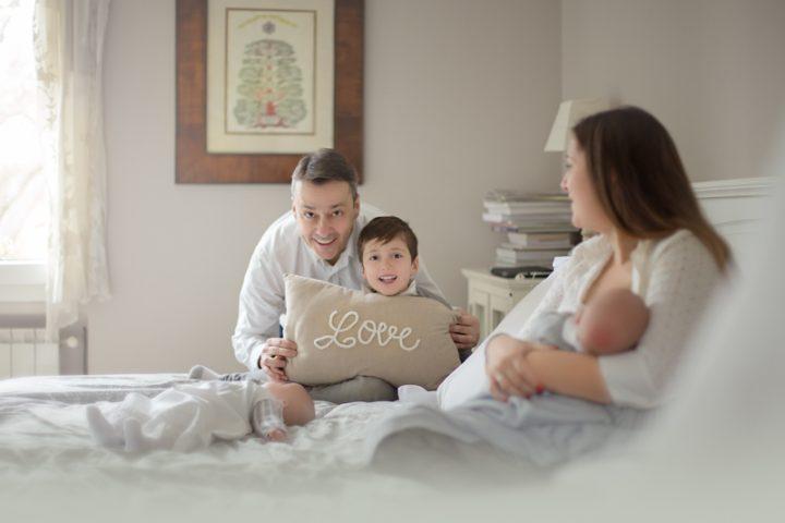 fotografia de famiglia en madrid