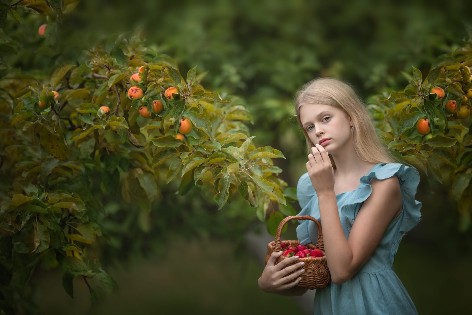 fotografia niños