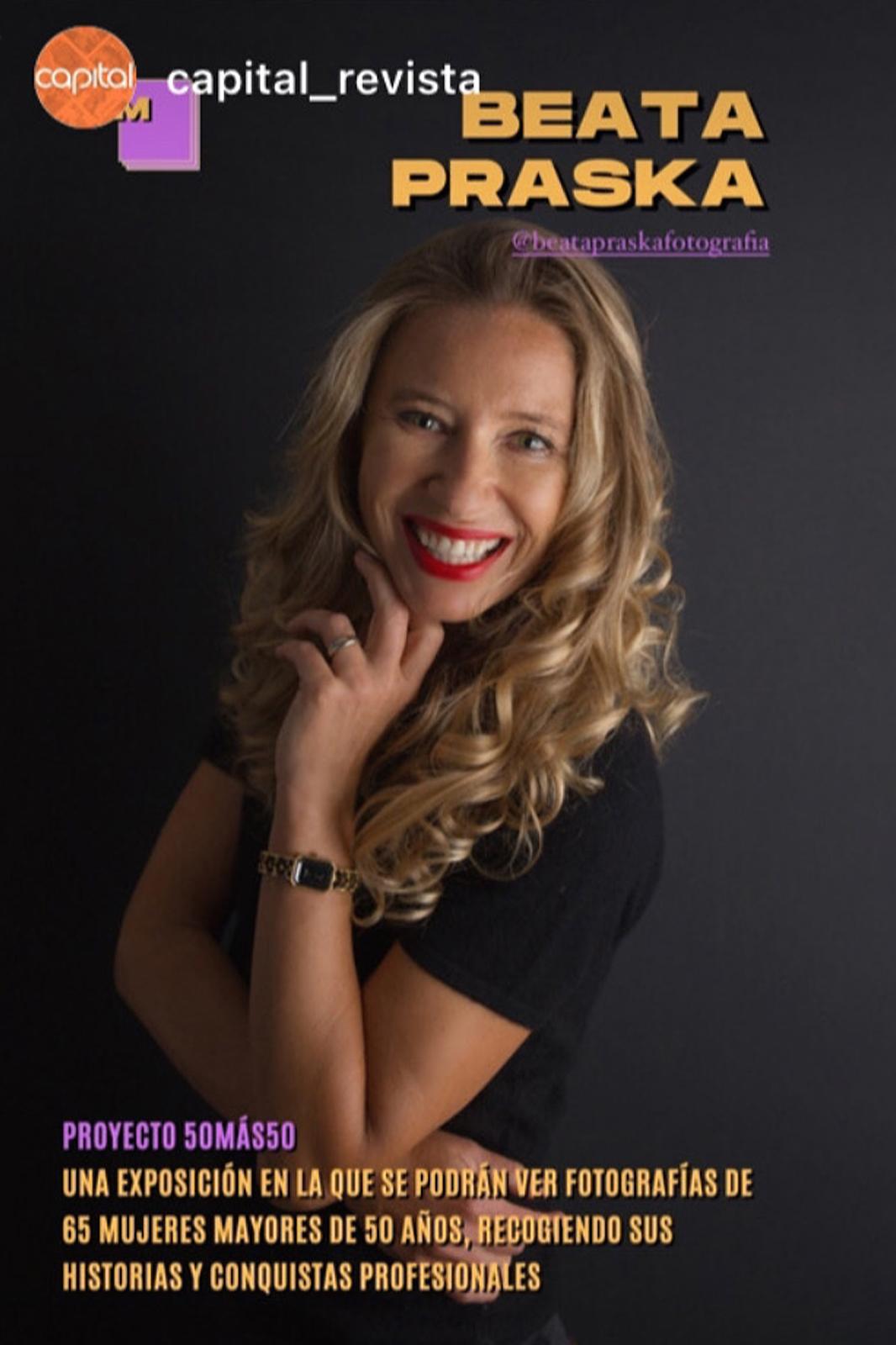 capital revista con Beata Praska Fotografia