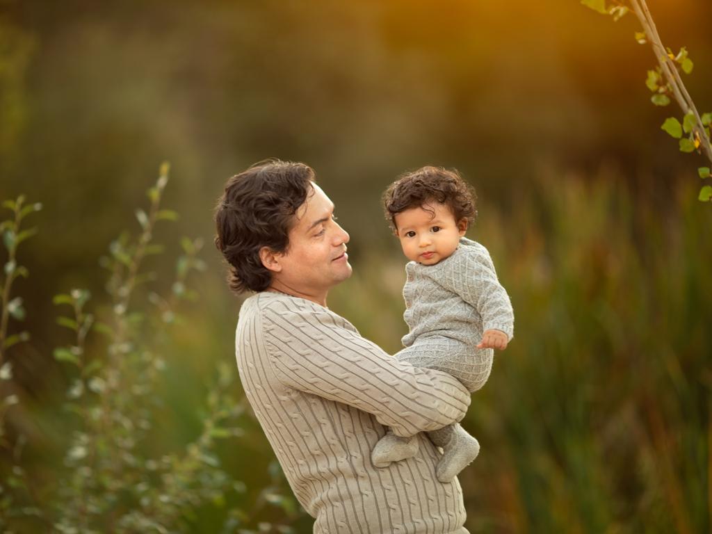 fotografia de bebes en exteriores