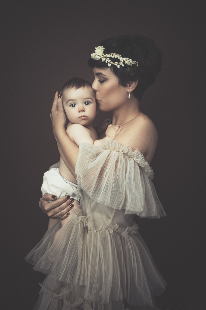 fotografia fine art de madre y hijo